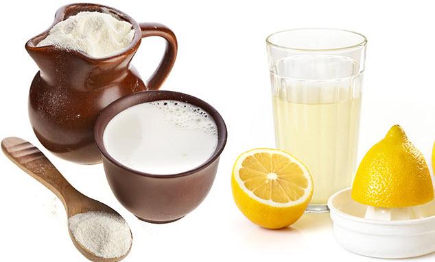 ماسك العسل والحليب و عصير الليمون لتفتييح البشرة