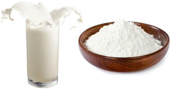 ماسك الحليب بالدقيق لتفتييح وتبييض البشرة