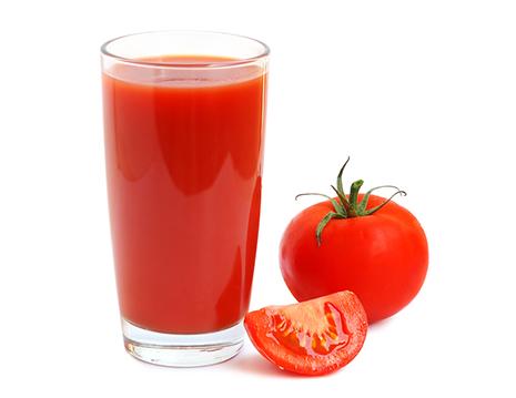الطماطم لتفتييح و تبييض البشرة