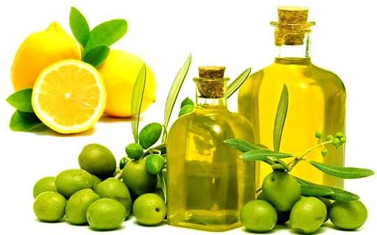 زيت الزيتون والليمون لتنعييم وترطيب اليدين