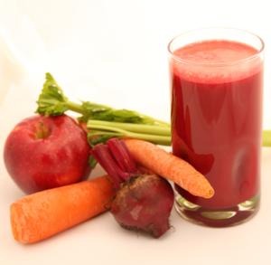 وصفة عصير الجزر والبنجر لإنقاص الوزن