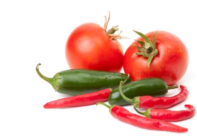 زراعة الطماطم والفلفل في البيت