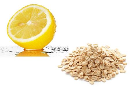 دقيق الشومر والليمون لتنعيم و تبييض الركب والأكواع