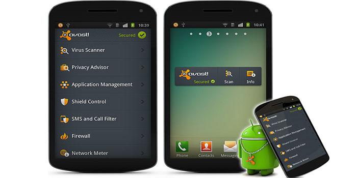 تطبيق و برنامج أفاست المجاني لحماية أمن هاتفكAvast Free Mobile Security