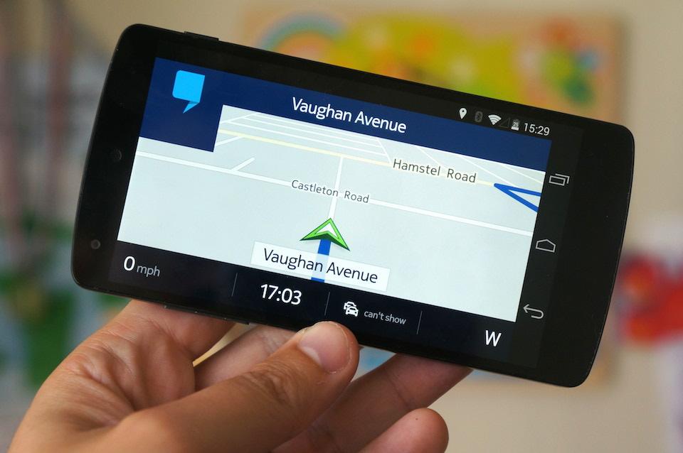 تطبيق HERE Maps
