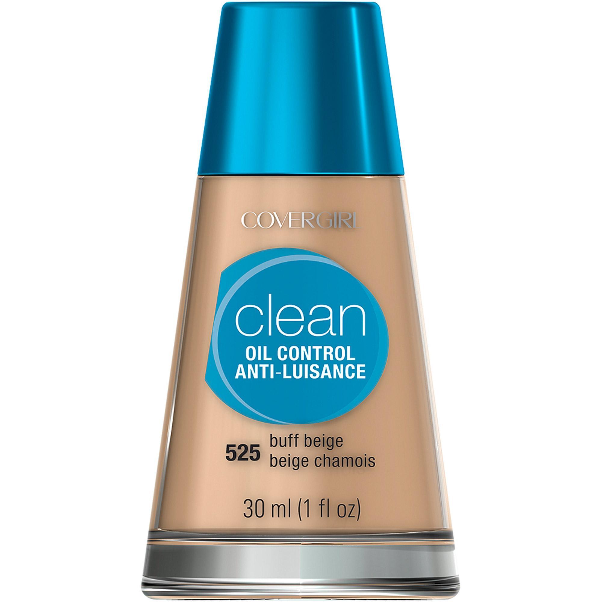 أساس الوجه CoverGirl Clean Oil Control Foundation للبشرة الدهنية