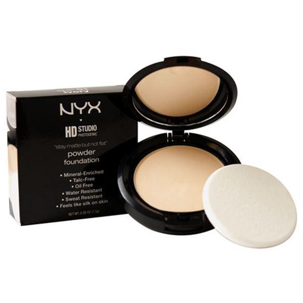 أساس الوجه Nyx Stay Matte But Not Flat Powder Foundation للبشرة الدهنية