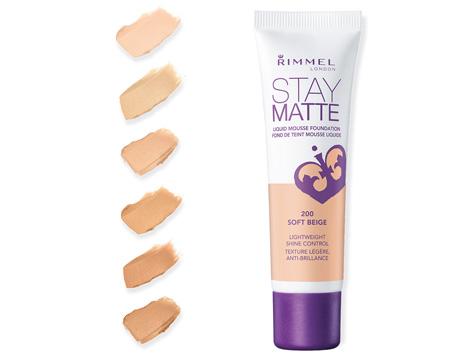 أساس الوجه ريميل Rimmel Stay Matte Liquid Mousse Foundation للبشرة الدهنية