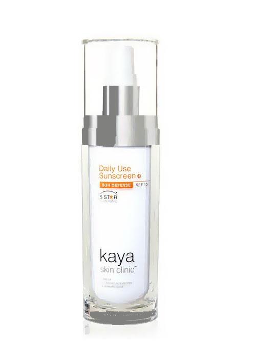 واقي الشمس كايا للبشرة الجافة Kaya Daily Moisturising Sunscreen with Spf 30+