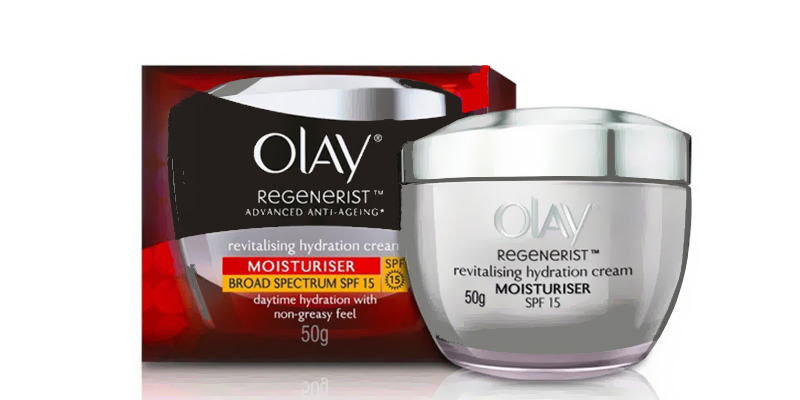 كريم أولاي للبشرة الدهنية Olay Regenerist Advanced Anti-aging Revitalizing Hydration Cream SPF 15