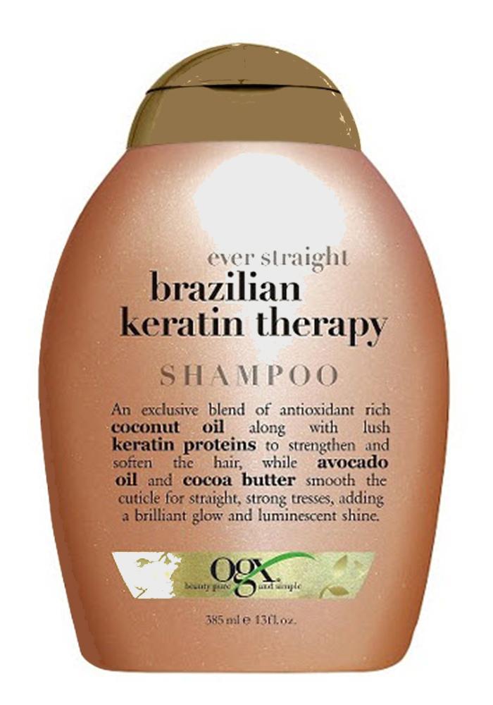 شامبو كيراتين البرازيلي Organix Brazilian Keratin Therapy Shampoo