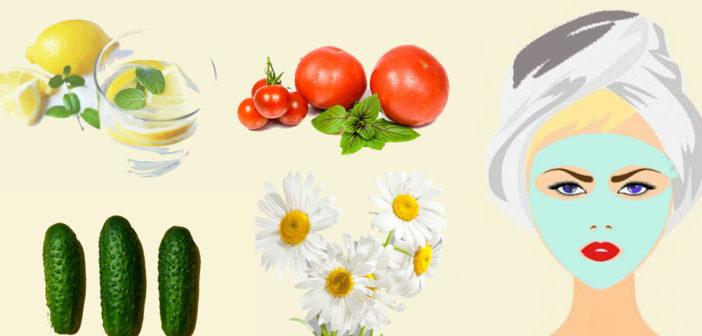 أفضل الوصفات الطبيعية للبشرة الدهنية Top 10