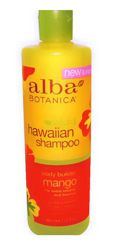 شامبو ألبا للشعر الخفيف شامبو ألبا للشعر الخفيف Alba Botanica Hawaiian Shampoo, Body Builder Mango