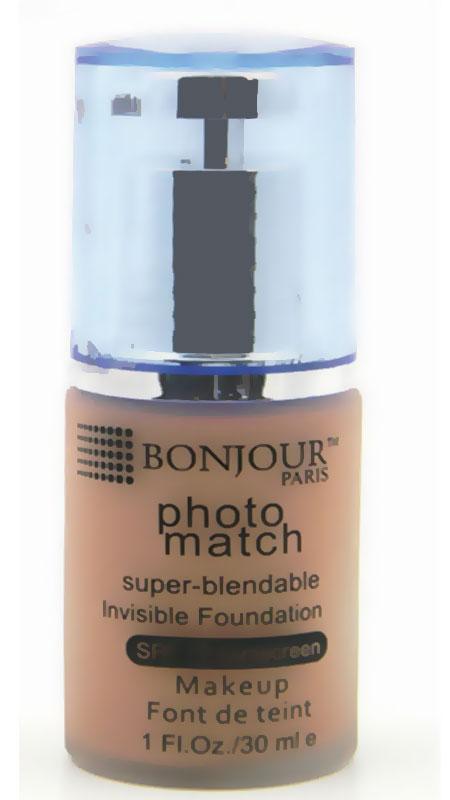 أساس الوجه Bonjour Paris Pump Foundation مقاوم للماء