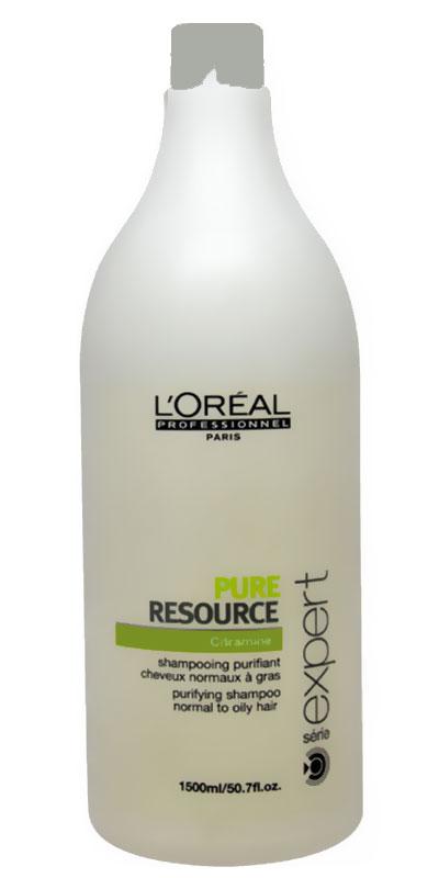 شامبو لوريال للشعر الدهني L'Oreal Pure Resource Purifying Shampoo