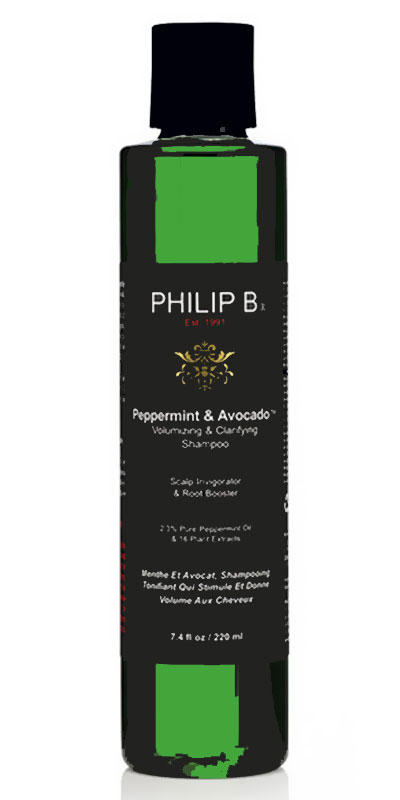 شامبو فيليب للشعر الخفيف Philip B Peppermint & Avocado Volumizing & Clarifying Shampoo