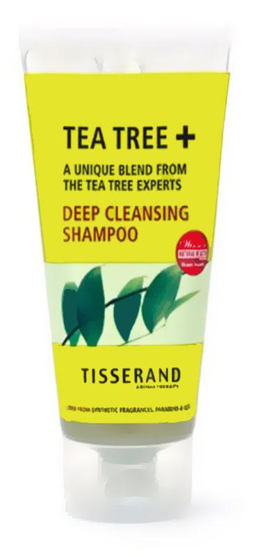 شامبو ضد فطريات الشعر الدهني Tisserand Tea Tree Deep Cleansing Shampoo