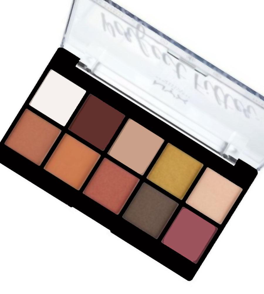 ظلال العيون الأيشدو Perfect Filter Eyeshadow Palette من نيكس NYX