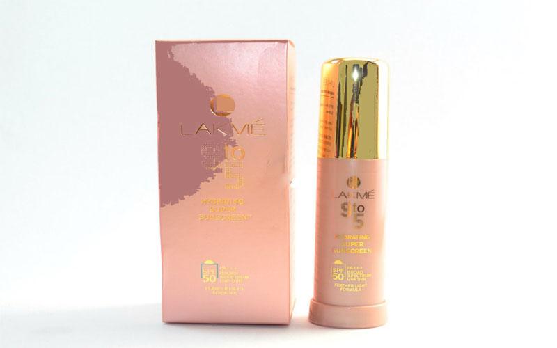 واقي الشمس لاكمي للبشرة الدهنية Lakmé 9 To 5 Hydrating Super Sunscreen SPF 50